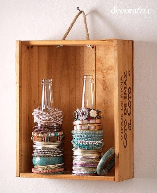 Display Your Jewelry In A Creative Way With These 17 DIY Jewelry Organizer Ideas 17