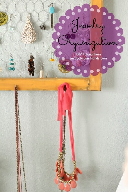 Display Your Jewelry In A Creative Way With These 17 DIY Jewelry Organizer Ideas 7