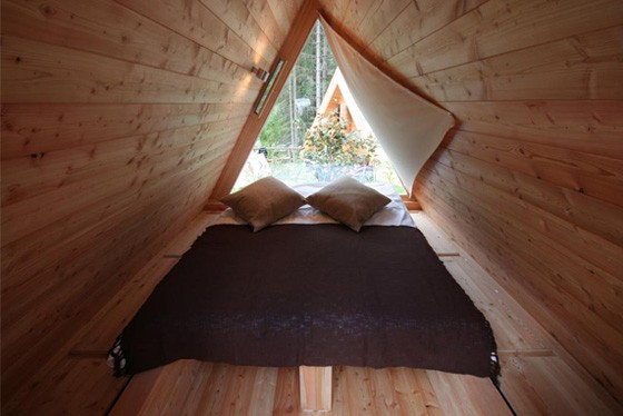 Gozdne Vile Glamping Huts Offering Tranquility in a Small Form Factor 1