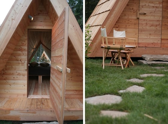 Gozdne Vile Glamping Huts Offering Tranquility in a Small Form Factor 2