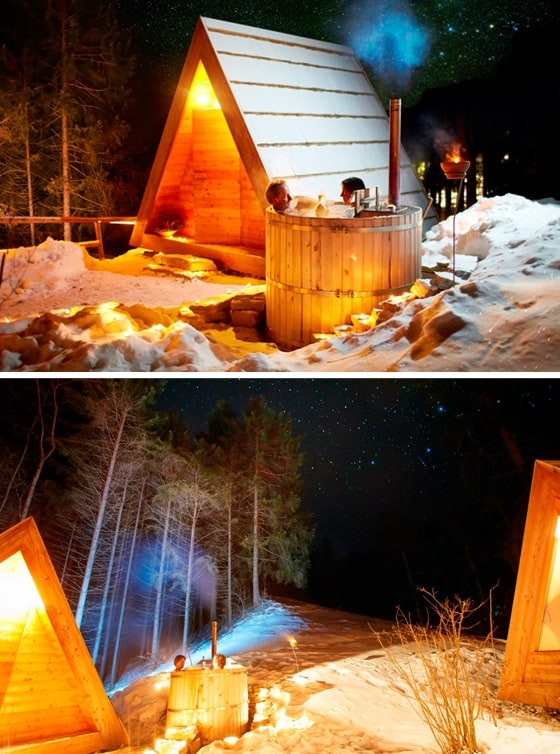 Gozdne Vile Glamping Huts Offering Tranquility in a Small Form Factor 4