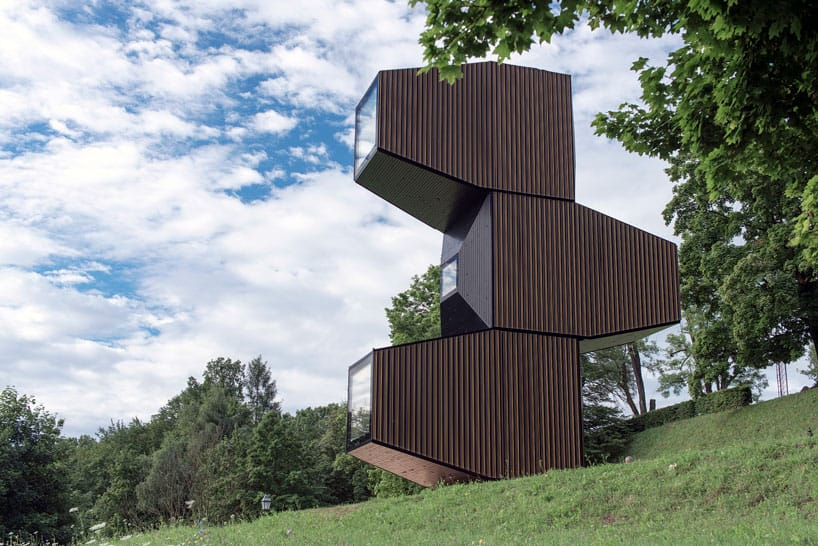 Living Unit A Modular Home Designed For Different Terrains By OFIS Arhitekti 1