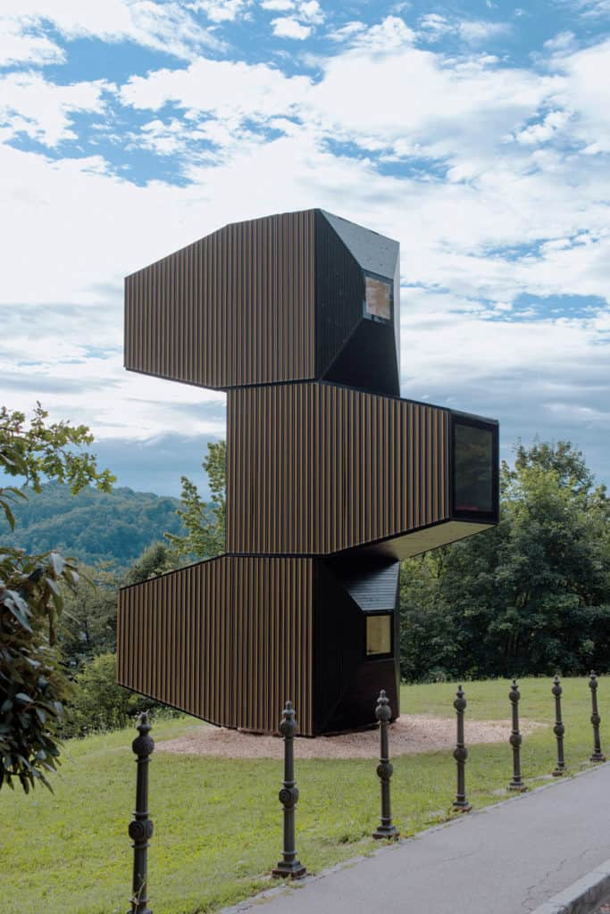 Living Unit A Modular Home Designed For Different Terrains By OFIS Arhitekti 2