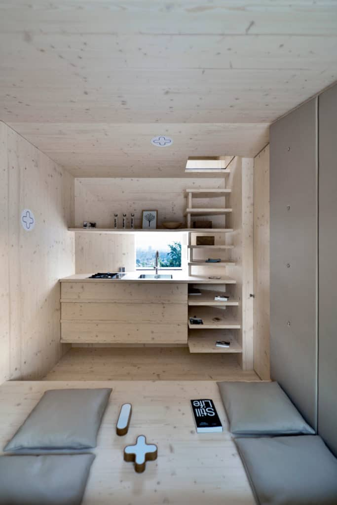 Living Unit A Modular Home Designed For Different Terrains By OFIS Arhitekti 4