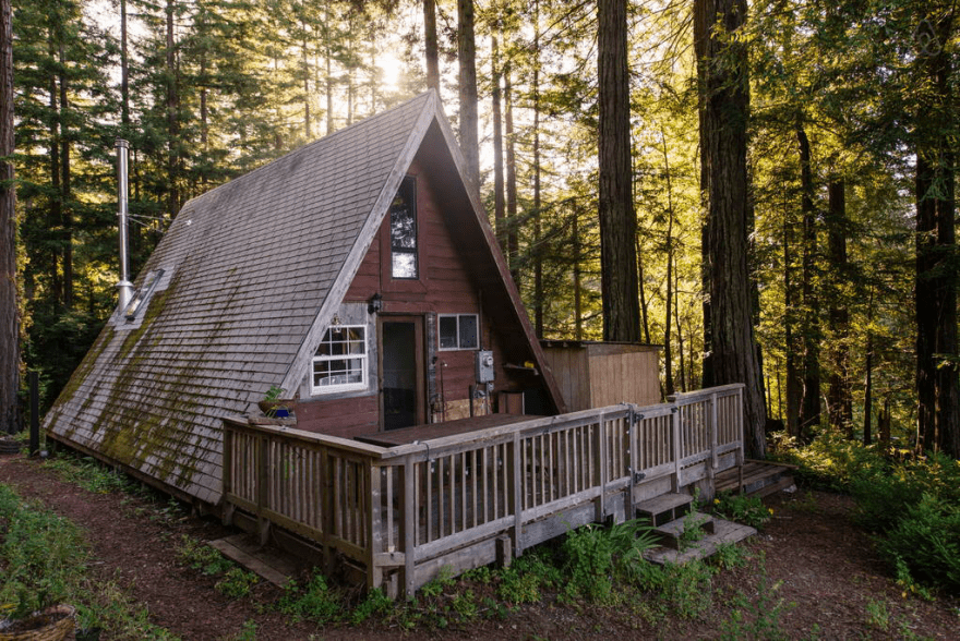 Redwoods A Frame Tiny House Amazes Guests Around The Globe