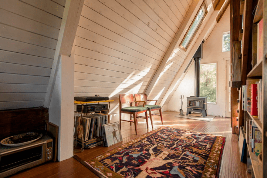 Redwoods A Frame Tiny House Amazes Guests Around the Globe 3