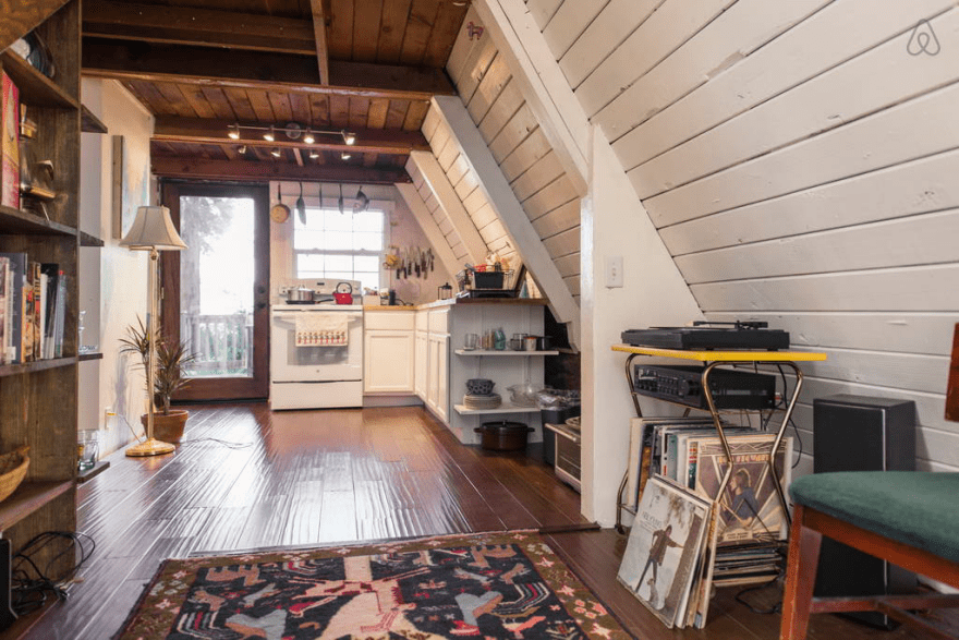 Redwoods A Frame Tiny House Amazes Guests Around the Globe 5