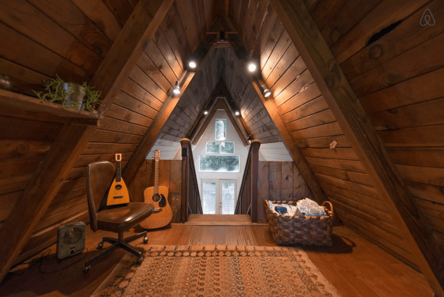 Redwoods A Frame Tiny House Amazes Guests Around the Globe 6