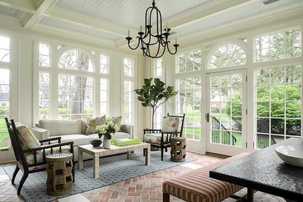 Spectacular Sunroom Ideas That Will Bring Sunlight Into Your Home 18