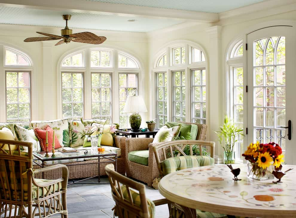 Spectacular Sunroom Ideas That Will Bring Sunlight Into Your Home 20