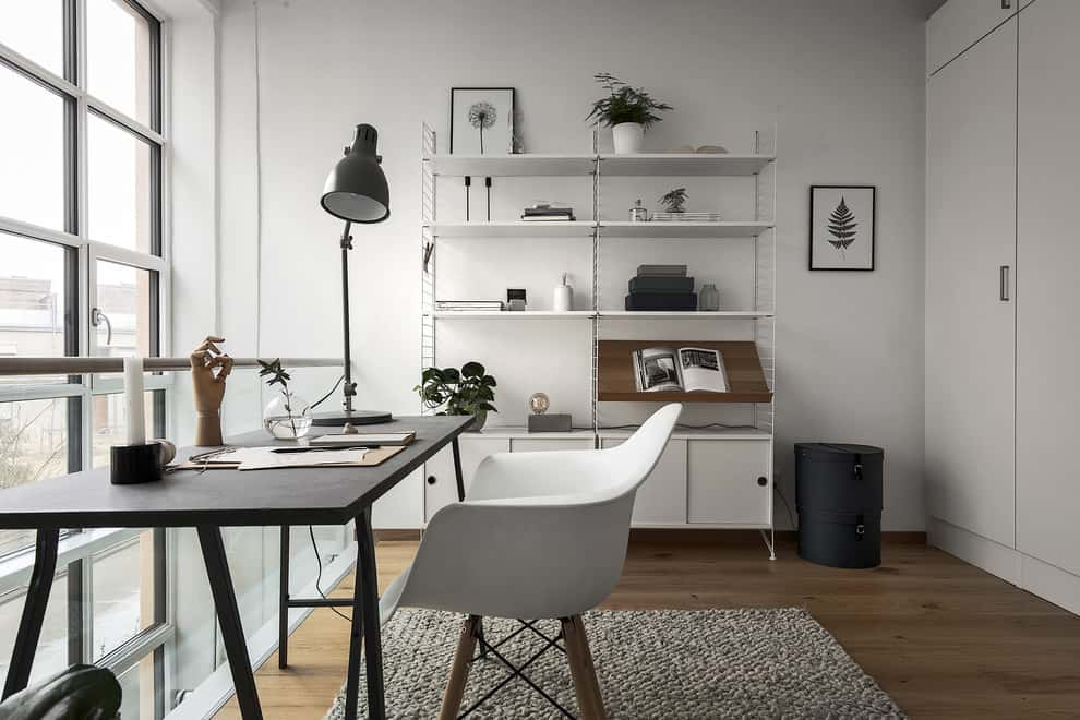 Stunning Scandinavian Home Offices That Will Boost Your Productivity 20 Irresistible Designs 10