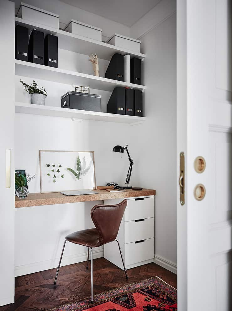 Stunning Scandinavian Home Offices That Will Boost Your Productivity 20 Irresistible Designs 12