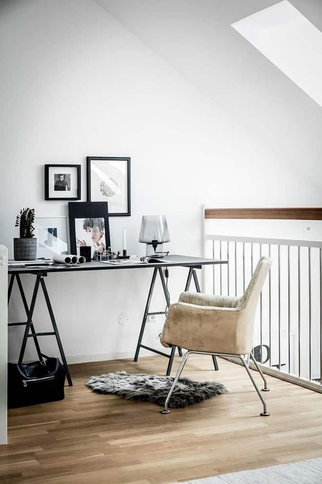 Stunning Scandinavian Home Offices That Will Boost Your Productivity 20 Irresistible Designs 15