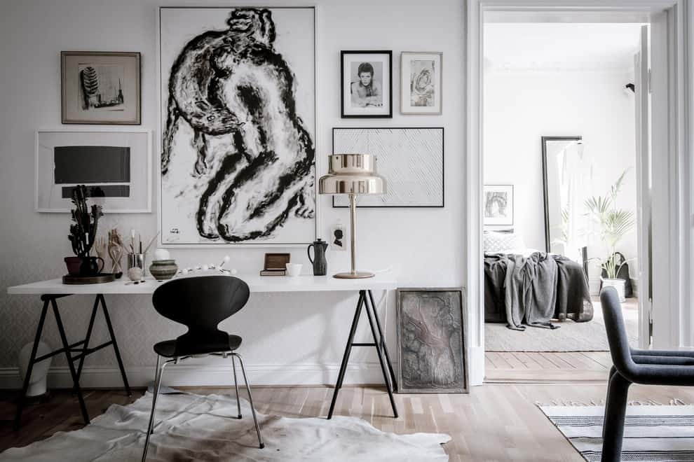 Stunning Scandinavian Home Offices That Will Boost Your Productivity 20 Irresistible Designs 16