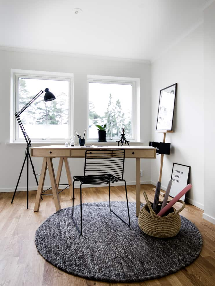20 Irresistible Scandinavian Home Offices That Will Boost Your Productivity Homesthetics Inspiring Ideas For Your Home