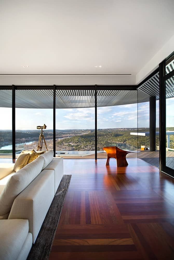 The Hilltop Residence by Miró Rivera Architects Paints Vistas of Lake Austin 5
