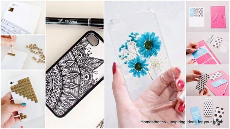 17 Super Epic Homemade Cell Phone Case Ideas to Do