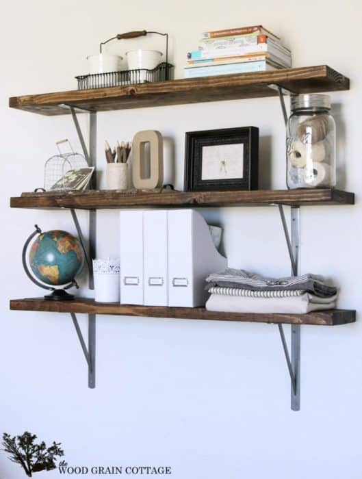 20 Chic DIY Rustic Shelves That You Should Make A Part Of Your Home Decor 1