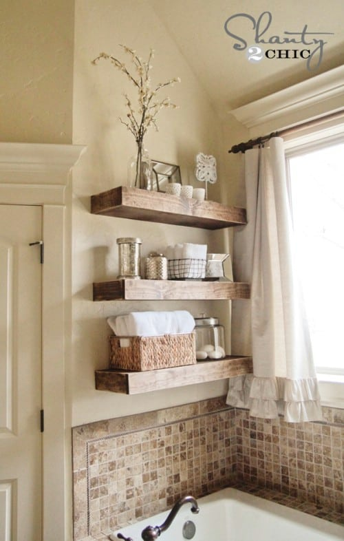 20 Chic DIY Rustic Shelves That You Should Make A Part Of Your Home Decor 2