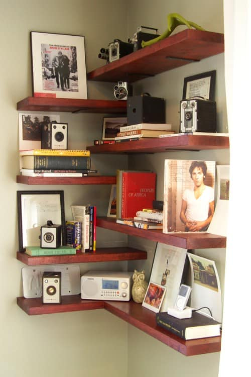 Make Use Of Those Empty Corners By Installing Corner Shelves For Extra Storage And Display Capabilities