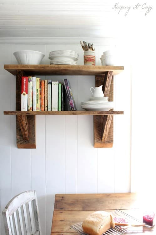 20 Chic Diy Rustic Shelves To Embed In Your Home Decor