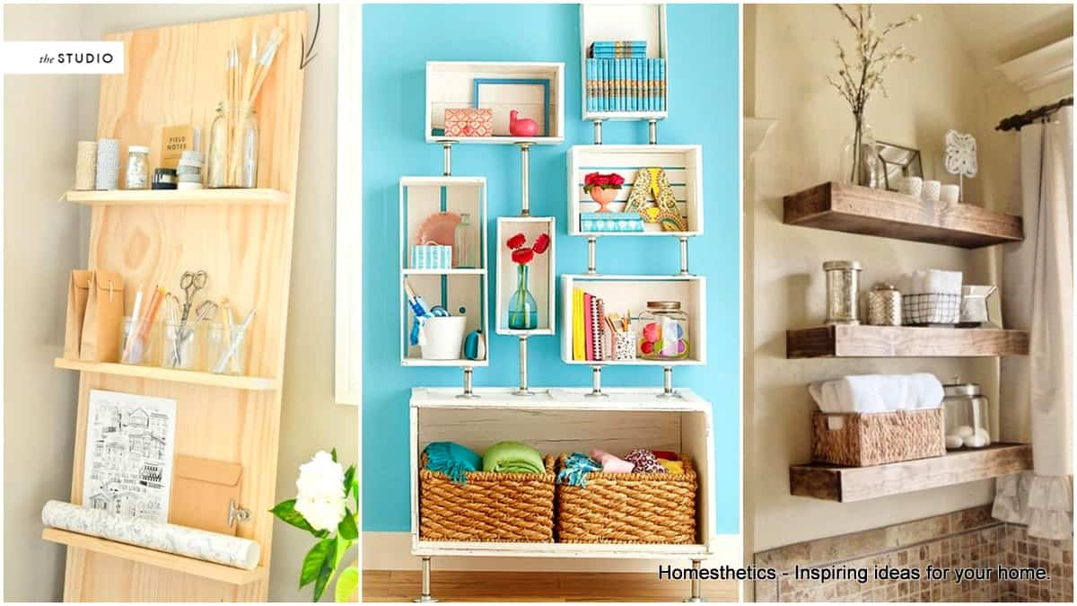 20 Chic DIY Rustic Shelves to Embed in Your Home Decor ...