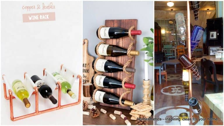 20 Incredible DIY Wine Rack Ideas Youll Want To Build Right Now