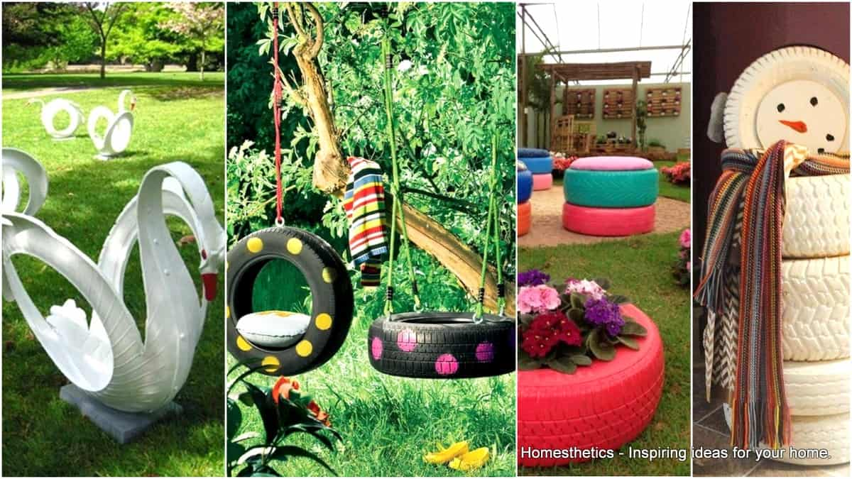 20 Ingenious Diy Tire Projects To Enhance Your Home Garden Homesthetics Inspiring Ideas For Your Home
