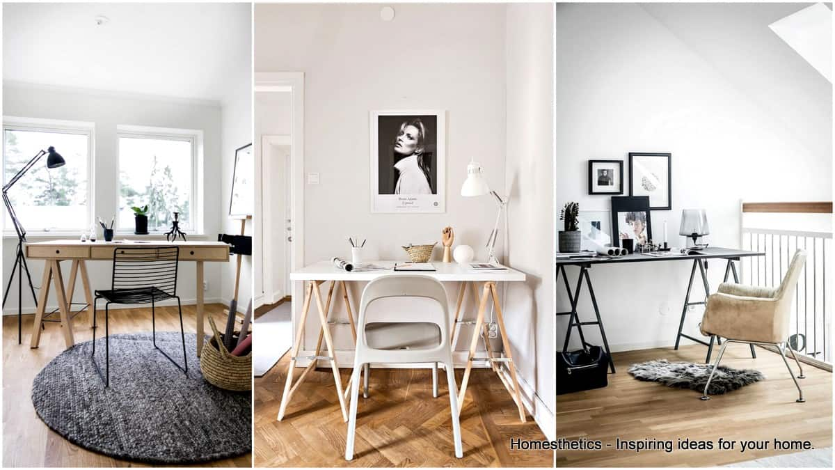 scandinavian home office. 20 Irresistible Scandinavian Home Offices That Will Boost Your Productivity Office Homesthetics