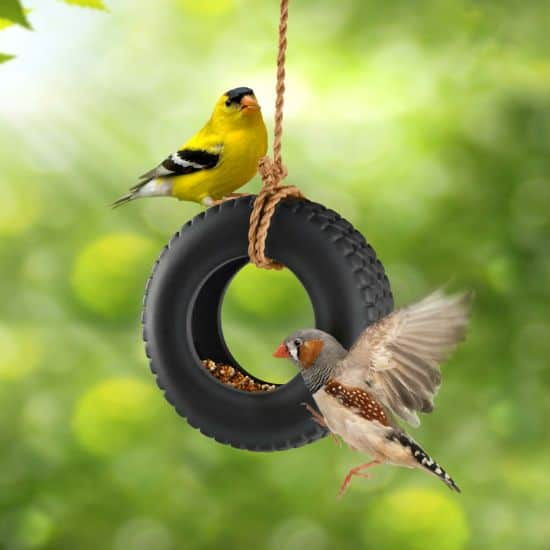 TIRE SWING FEEDER