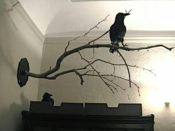 102. USE RAVENS TO DECORATE YOUR HOME