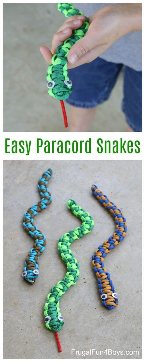 FUN PARACORD SNAKES