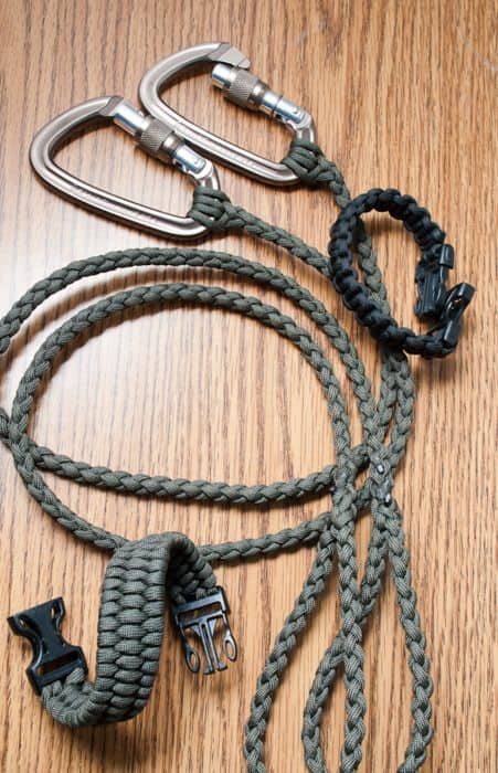 PARACORD COLLAR AND LEASH COMBO FOR YOUR DOG