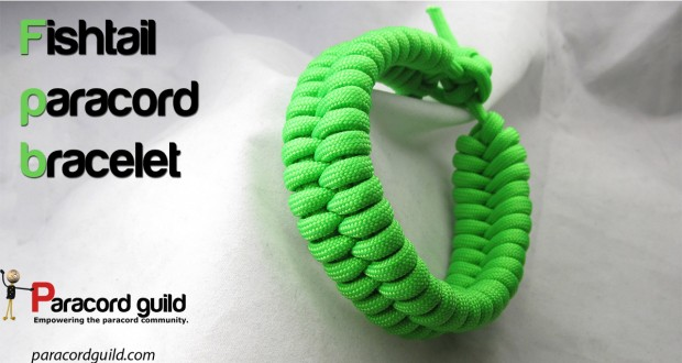 FISHTAIL PARACORD BRACELET