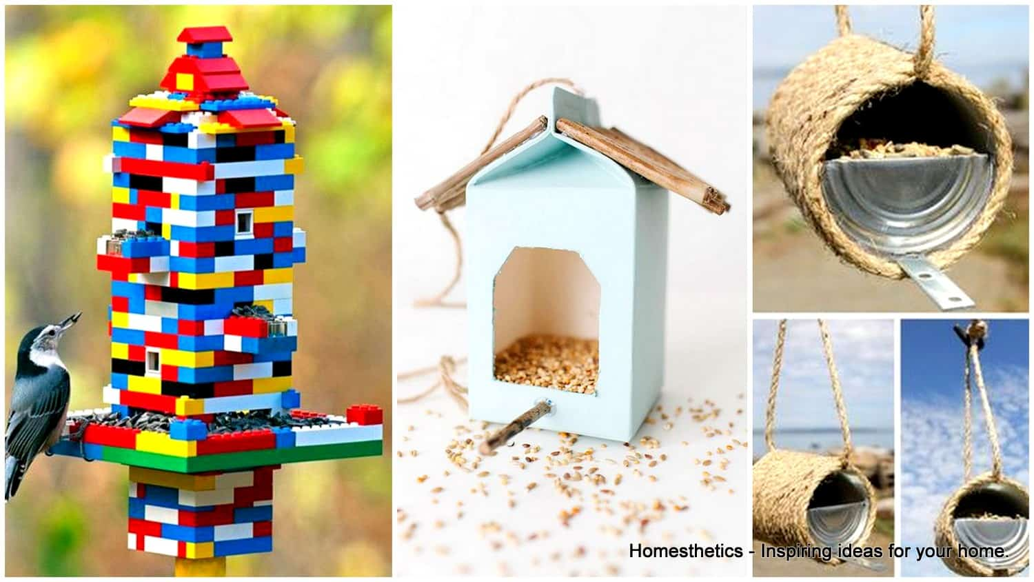 69 Epic Homemade DIY Bird Feeder to Craft Today