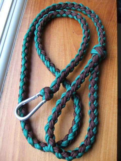 GIVE YOUR DOG WHAT IT DESERVES - A PARACORD LEASH