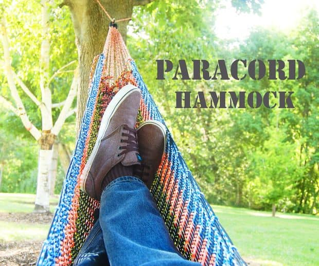 COLORFUL PARACORD HAMMOCK