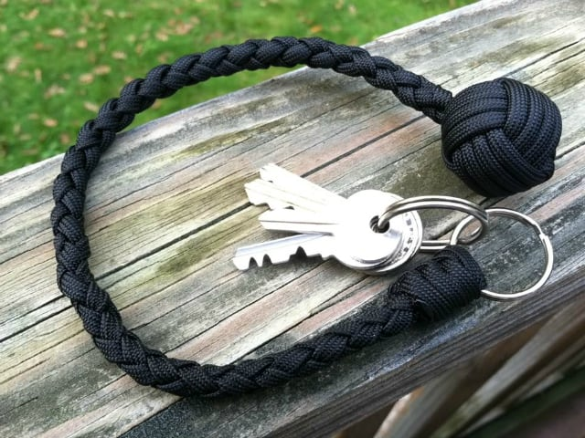 Paracord Self Defense Keychain At Getdatgadget Homesthetics