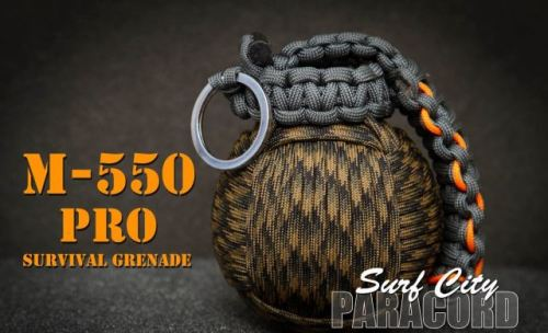 COOL PARACORD SURVIVAL GRENADE