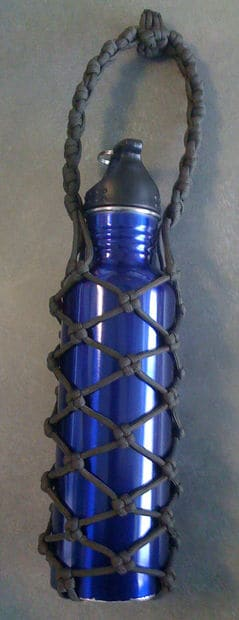 PARACORD BOTTLE HOLDER