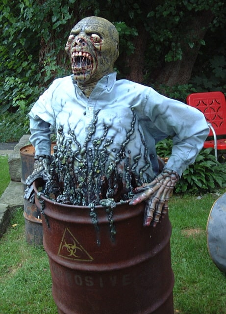 75. THE RADIOACTIVE ZOMBIE IN A BARREL
