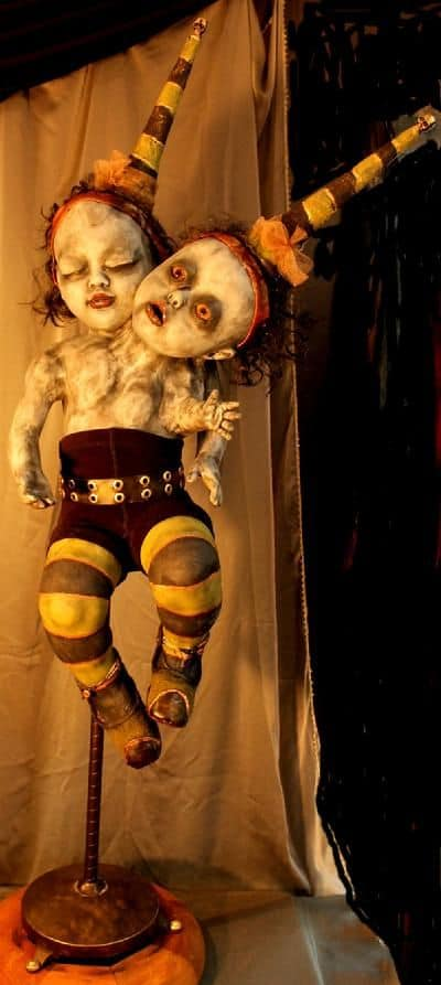 104. THE TWO-HEADED CREEPY DOLL