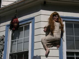 46. THE HORRIFYING WOMAN CLIMBING YOUR HOUSE