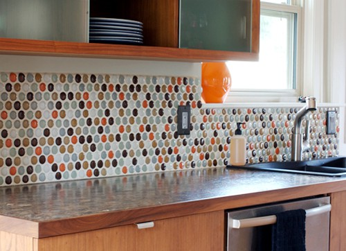 Learn How To Make A Penny Backsplash Tutorial And Inspiration