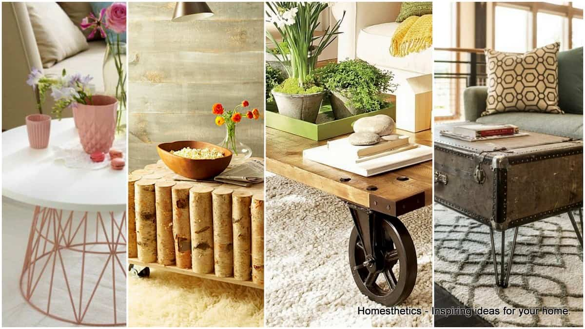 10 Fabulous DIY Coffee Tables That Are Easy To Make - Homesthetics ...