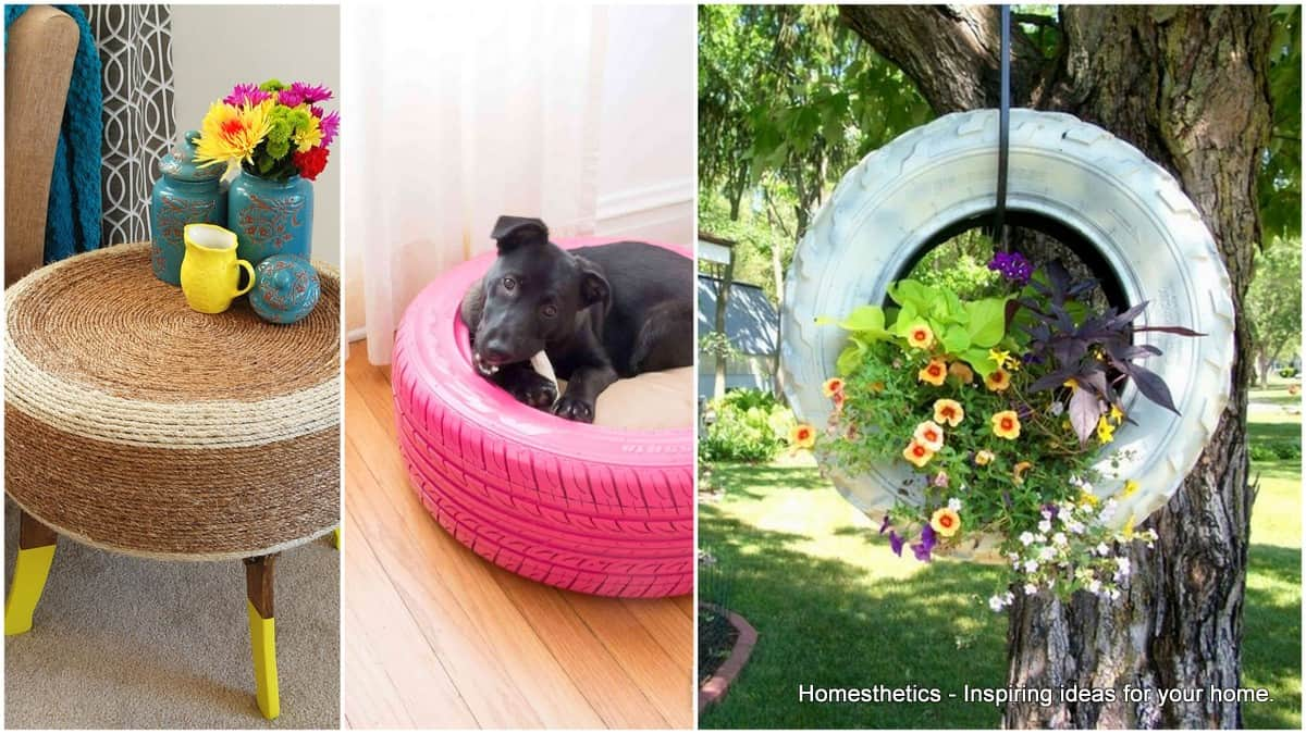 10 Ideas on How To Repurpose Tires In Your Home And Yard