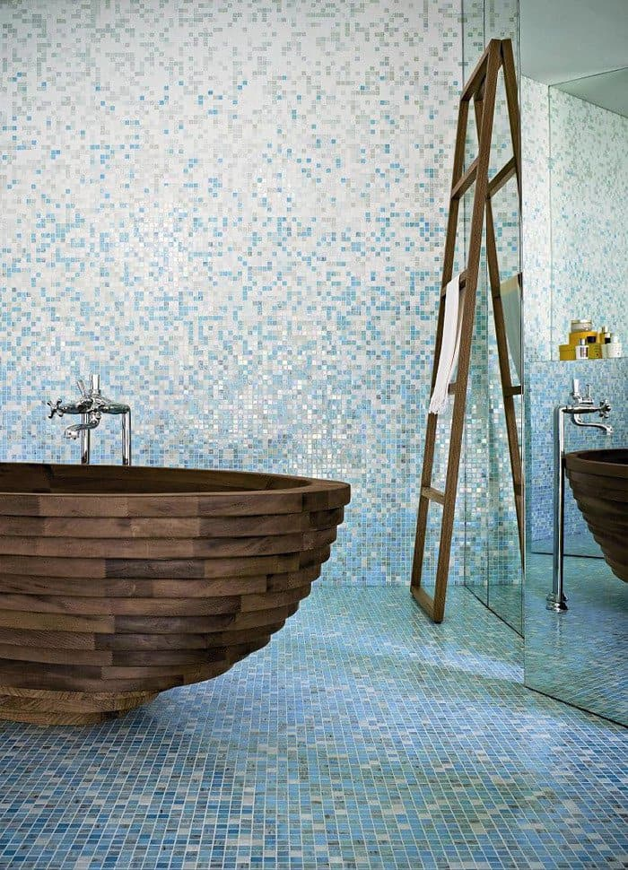 35 Super Epic Wooden Bathtub Design Ideas to Consider