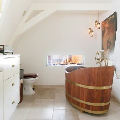 35 Super Epic Wooden Bathtub Design Ideas To Consider Homesthetics