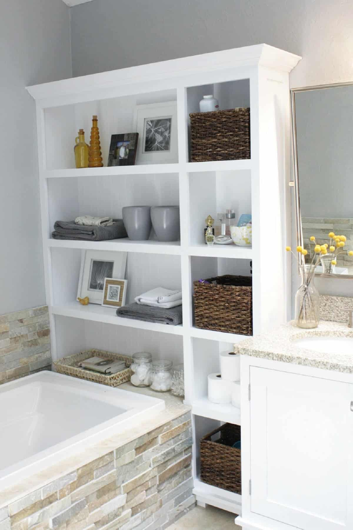 Merveilleux 20 Smart Bathroom Storage Ideas That Will Impress You   Homesthetics    Inspiring Ideas For Your Home.