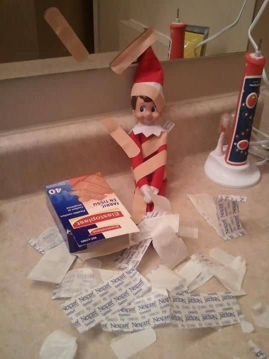 118. Elfie gets caught playing with Band-Aids